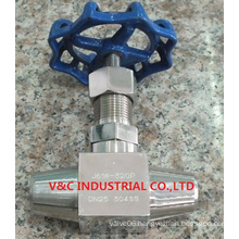 High Temperature High Pressure Needle Valve with Butt Welding