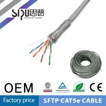 SIPU alta qualidade rede cabo sftp cat5e 305m