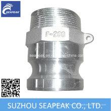 Aluminum Camlock Coupling Type F