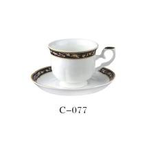 2 taza de café de la porcelana de la PC