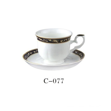 2 PC Porcelain Coffee Cup