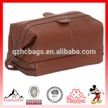 Персонализированные косметический мешок кожаный туалетных принадлежностей Сумка для путешествий