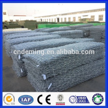 DM hot dipped galvanized stone cage gabion wall