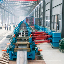 welded pipe making roll forming machine production line