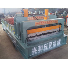 Exportieren von Normalformat Stahl Dachziegel und Wandpaneel Roll Formmaschine
