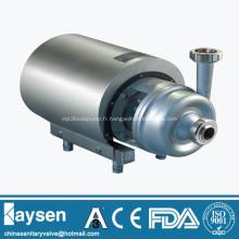 Pompe centrifuge sanitaire à couvercle rond et à couvercle ouvert