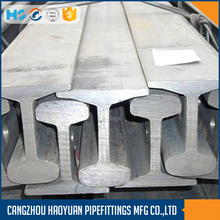 Chinese Standard Steel Crane Rail QU100 QU120 U71Mn
