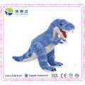 Blue and Grey T-Rex Dinosaur Stuffed Animal