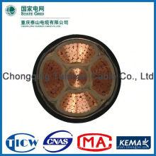 Fabrik Versorgung Top-Qualität 3x2.5mm2 Feuerwiderstand Kabel und Draht (Netzkabel)