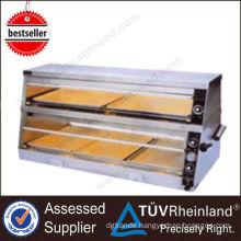 Heavy Duty 2/4 Layer Showcase kitchen equipment food warmers