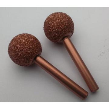 Roda de contorno de carboneto de tungstênio (em forma de bola)