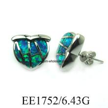 Pendiente de la joyería de la manera de Opal latón (YE00016)