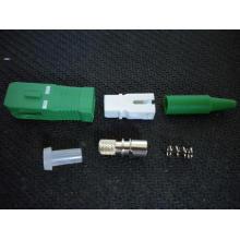 Sc / APC Simplex-0.9mm- Conector de fibra óptica