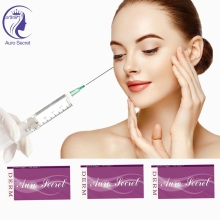 Big Size Wrinkle Filler Injections Around Mouth