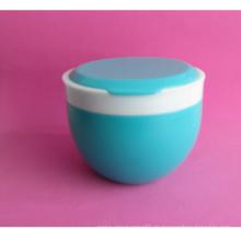 500ml HDPE Puderglas mit zwei farbigen Clousre