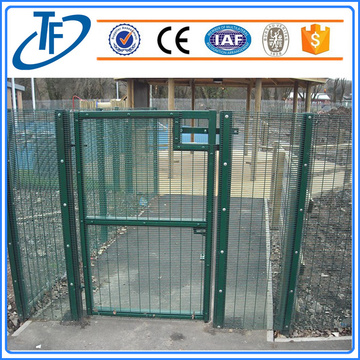 strong tension anti-climb 358 high security fencing