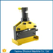 Exuberante en herramientas de diseño Cnc Shearing and Bending Machine para corte punzonadora portátil hidráulica Busbar Bender