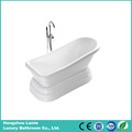 High Quality Bright White Classic Acrylic Bath Tub (LT-12T)