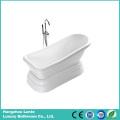 High Quality Bright White Classic Acrylic Bath Tub (LT-12T)