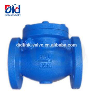 Água Duplo Sanduíche Duplo Ferro Fundido Din Flangeada Válvula de Retenção de Válvula Válvula de Retenção De Metal Fornecedor