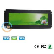 Monitor ultra ancho de 14.9 pulgadas de marco abierto TFT a color con entrada de 12v DC