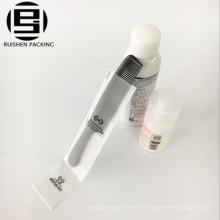 EVA material de plástico cepillo de dientes pasta de dientes bolsa de embalaje con la impresión