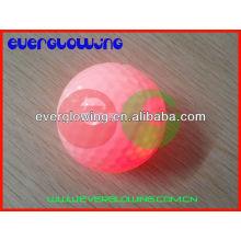 bola de golfe colorida prática 2016 do treinamento da noite do diodo emissor de luz venda QUENTE 2016