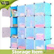 Estante de almacenamiento modular DIY que organiza el armario grande del guardarropa