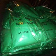 Pigment céramique réfractaire vert oxyde de chrome Cr2O3