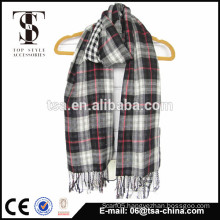 fashion-conscious super soft import linen and cotton scarf small stripe scarves