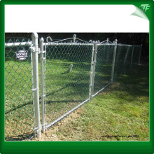 Pvc coated galvanized chain link mesh