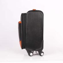 2018 индивидуальный дизайн классический PU вагонетка сумка для багажа