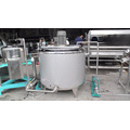 100L 200L 300L Precios de máquina de pasteurizadora de lotes de leche de acero inoxidable pequeños