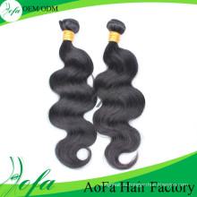 Леди Стиль Люблю Необработанные Девственные Волосы 100% Человеческих Волос