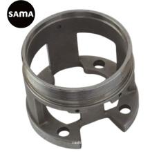 Carbono, aleación, fundición de precisión de acero inoxidable con mecanizado