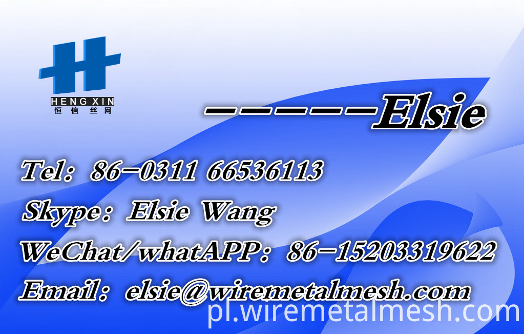 Elsie-Card galvanized crimped wire mesh