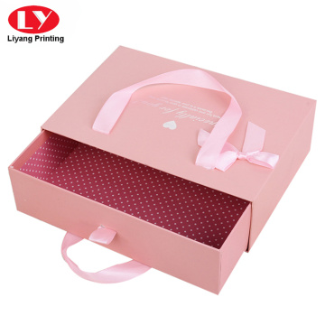 beauty girls sandals box printing