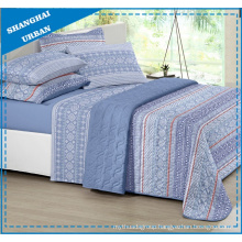 Blue Tribe Totems Printed Polyester Bedspread Set
