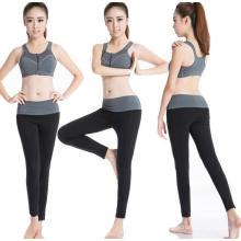 Frauen Gym Workouts Anzug Sport BH & Leggings Hosen Fitness Training
