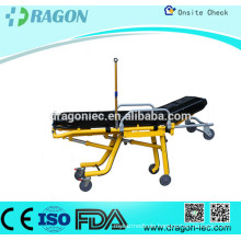 DW-S002 Steel Automatic Loading stretcher for ambulance stretcher made in china