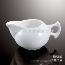 Gesunder, langlebiger weißer Porzellan-Ofen sicherer Saft Topf