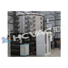 Equipamento Titanium de aço inoxidável da máquina de revestimento da folha PVD / PVD