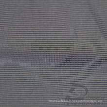 Veste imperméable à l'eau et au vent Woven Dobby Jacquard à rayures 26% Polyester 74% Tissu intertexture à tisser en mousse de nylon (H014)