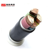 Flame retardant 10mm2 Copper/aluminum conductor XLPE insulation steel tape armoring PE sheath  low voltage power cable