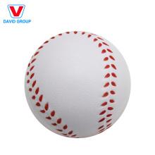 El adulto colorido relaja la bola redonda de la tensión del golf de la bola de la tensión de la espuma suave de la PU