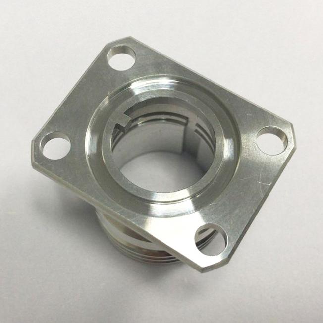 machined aluminum tube