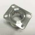 3D CNC bearbeitete gedrehtes Aluminiumrohr