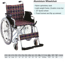 Spoke Wheel Aluminum Wheelchair