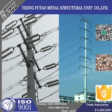 35 FT steel electric power pole