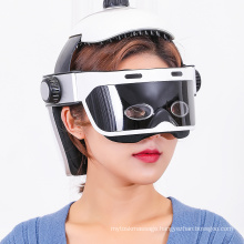 Electric Automatic Heat Compression head massage device 2021